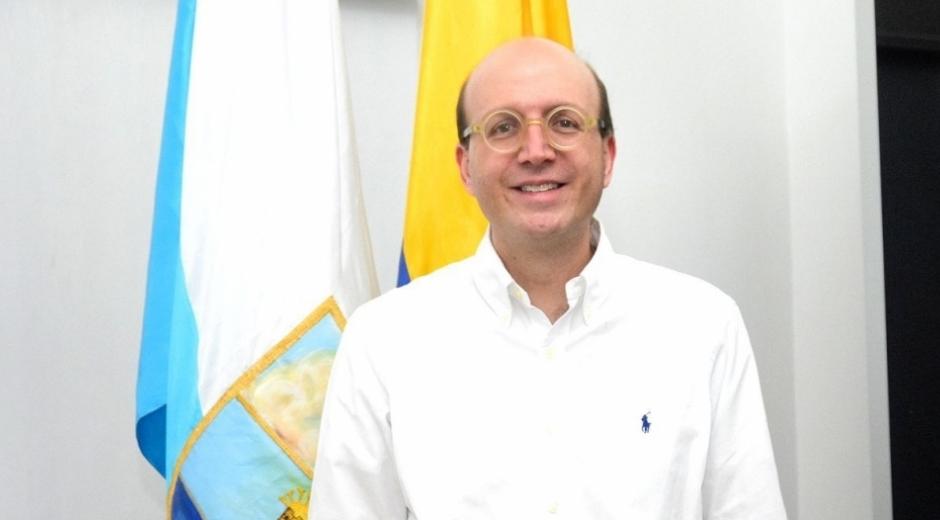 Andrés Rugeles se posesionó el pasado 4 de abril como alcalde encargado de Santa Marta.