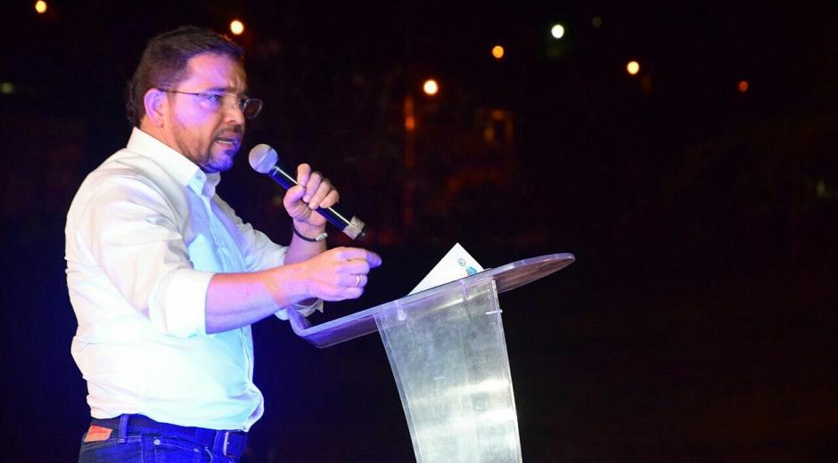 El alcalde electo de Santa Marta, Rafael Martínez.