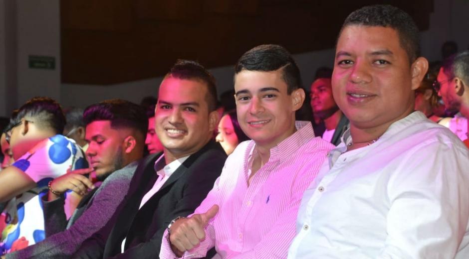 La agrupación vallenata Toto Díaz y Carlos García.
