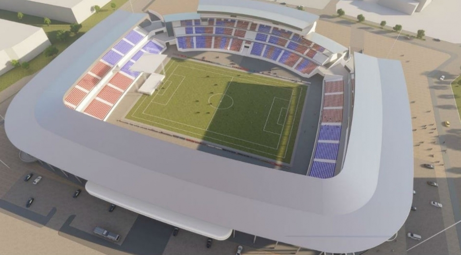 El escenario tendría una capacidad para 38 mil espectadores.