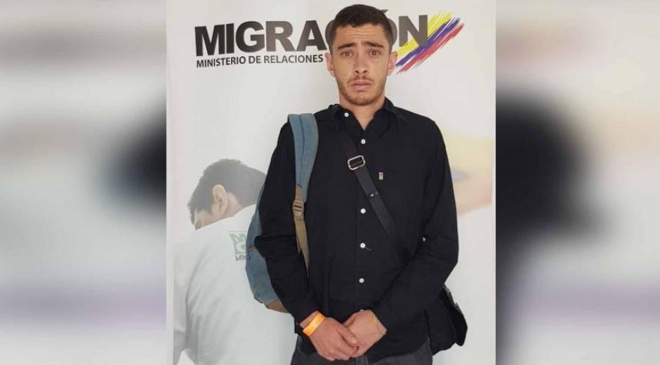 Extranjero francés detenido en Santa Marta