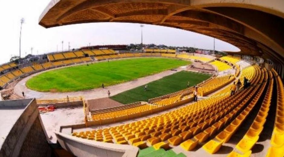 Estadio Jaime Morón de Cartagena.