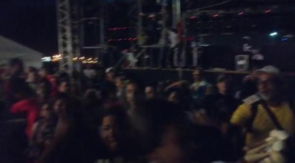 Imágenes de la disputa que se generó en el evento de Feinimar