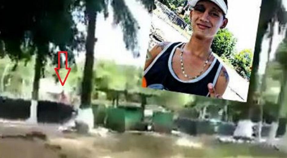 El joven murió tras ser impactado por una bala.