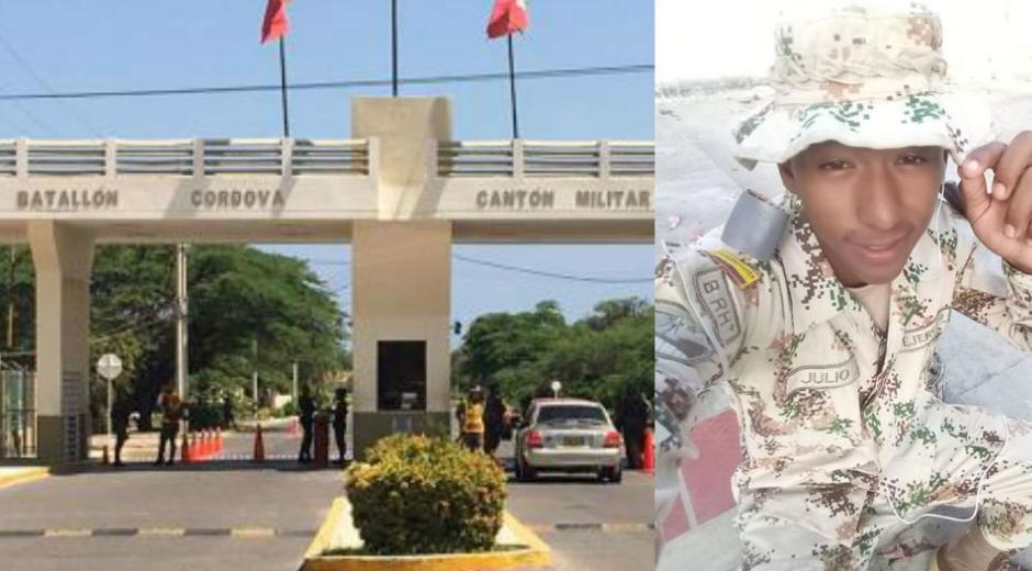 Elías José Julio Nieto fue encontrado con un impacto de bala en una garita del Batallón.