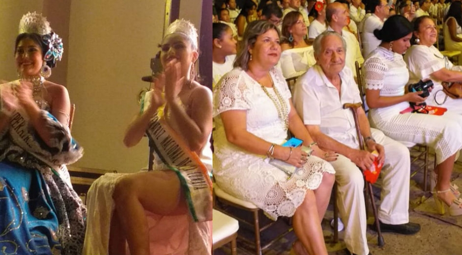 Noche Blanca, evento con el que inició el Festival Nacional de la Cumbia.