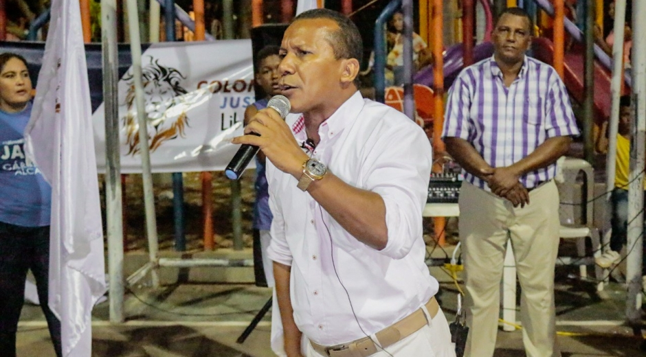 Jaime Cárdenas, candidato a la Alcaldía de Santa Marta para el periodo 2020-2023.