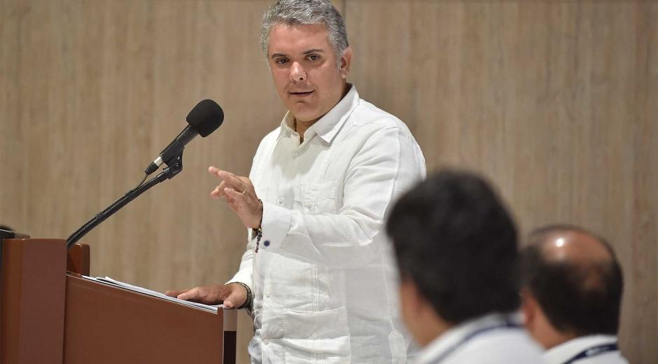 El presidente Iván Duque estará este jueves en Ciénaga, Magdalena.