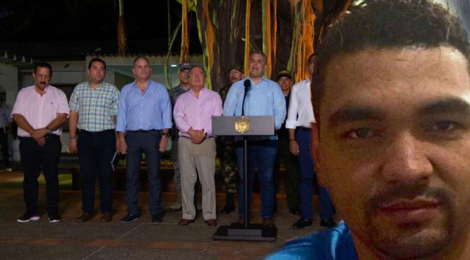 El presidente Iván Duque dijo que están tras la organización La Silla.