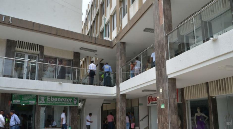 Las indagaciones se llevan a cabo en el edificio Galaxia, de Santa Marta.