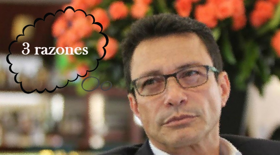 Tres posibles razones de por qué Carlos Caicedo no se ha dado bombo con la encuesta.