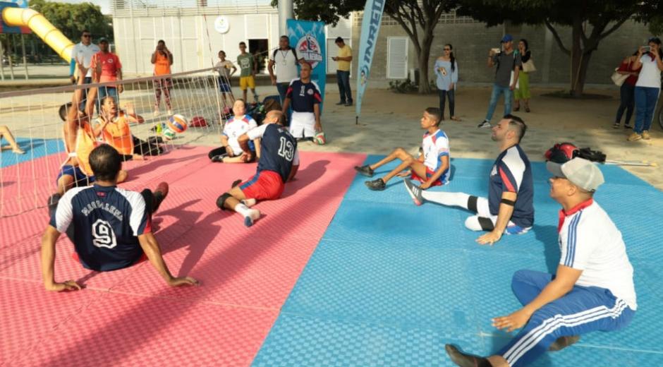 Jornada de deporte inclusivo en la Ciudadela 29 de Julio.