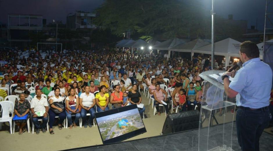 Feria de titulación y legalización de predios.