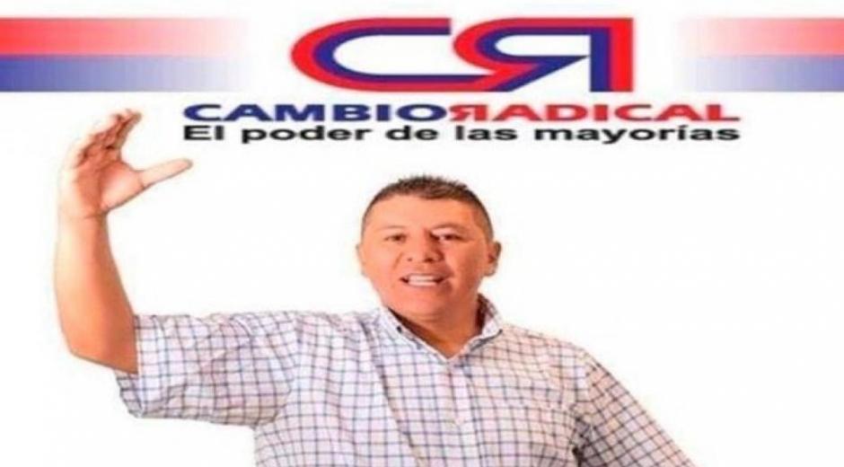 Óscar Lombana, candidato a la Alcaldía de Potosí, municipio de Nariño.