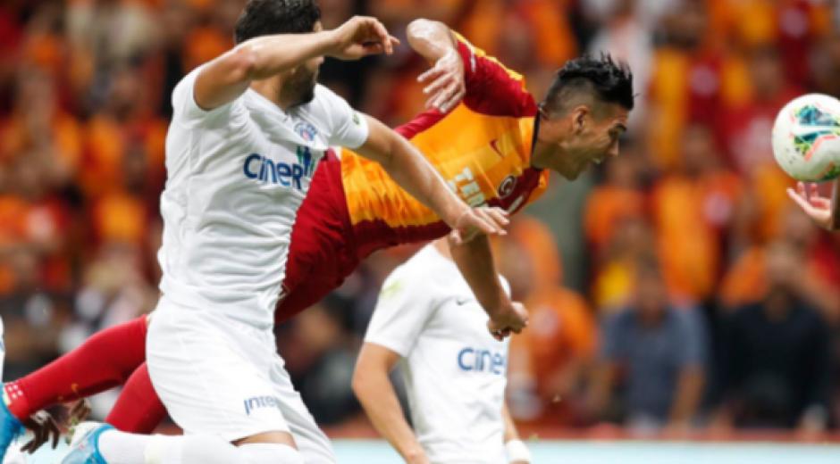Falcao con el Galatasaray