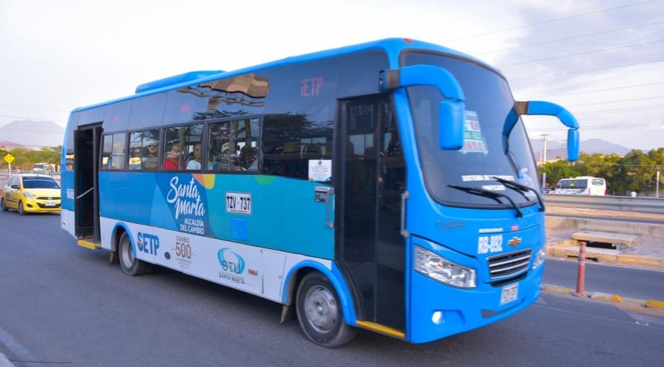Buses del Setp