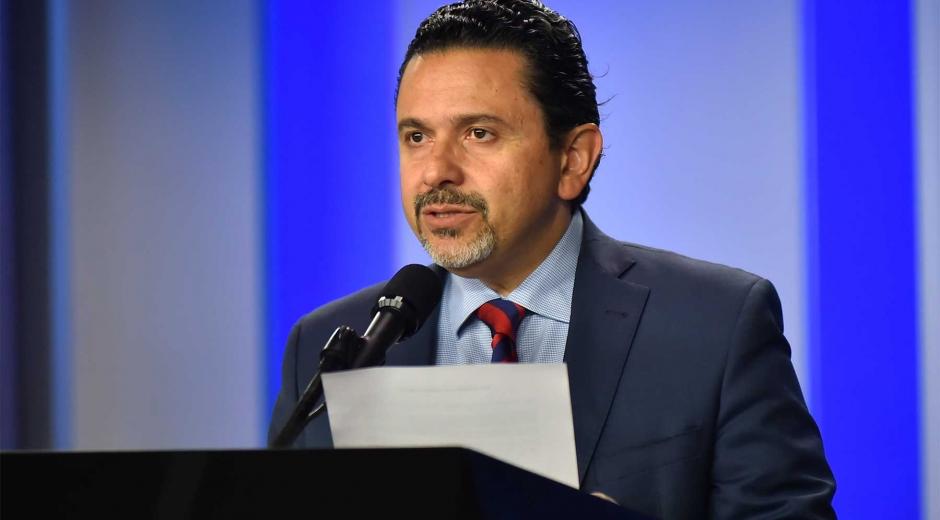 El alto comisionado para la paz, Miguel Ceballos.