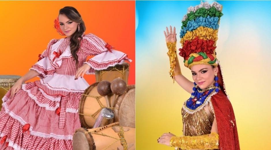 Laura Rivera Díaz, reina de los Carnavales de Aracataca.
