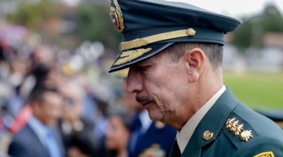 Nicacio Martínez, excomandante del Ejército.