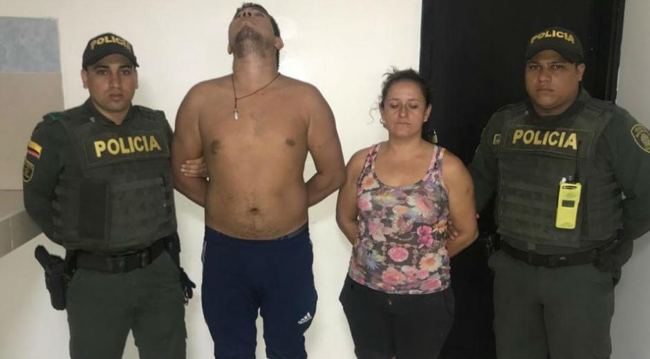 Cristian Castro y Gladis Valencia, capturados.