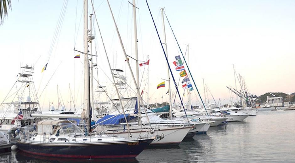 Los veleros del World ARC atracaran en la Marina de Santa Marta