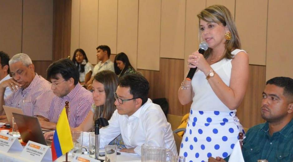 Carlos Caicedo y Virna Johnson se reunirán este miércoles en Bogotá con los funcionarios de orden nacional.