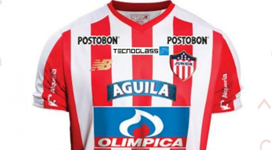 Uniforme del Junior de Barranquilla para 2020.