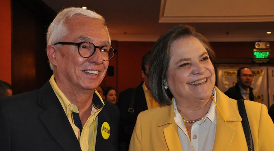 Jorge Enrique Robledo y Clara Lopez.