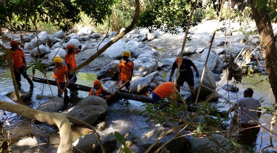 La Essmar realiza mantenimientos en el sistema de acueducto.