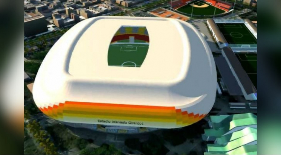 Diseño del Estadio Atanasio Girardot.