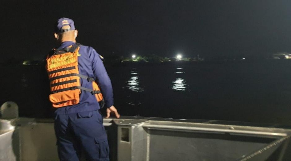 Operativos para encontrar al pescador desaparecido.