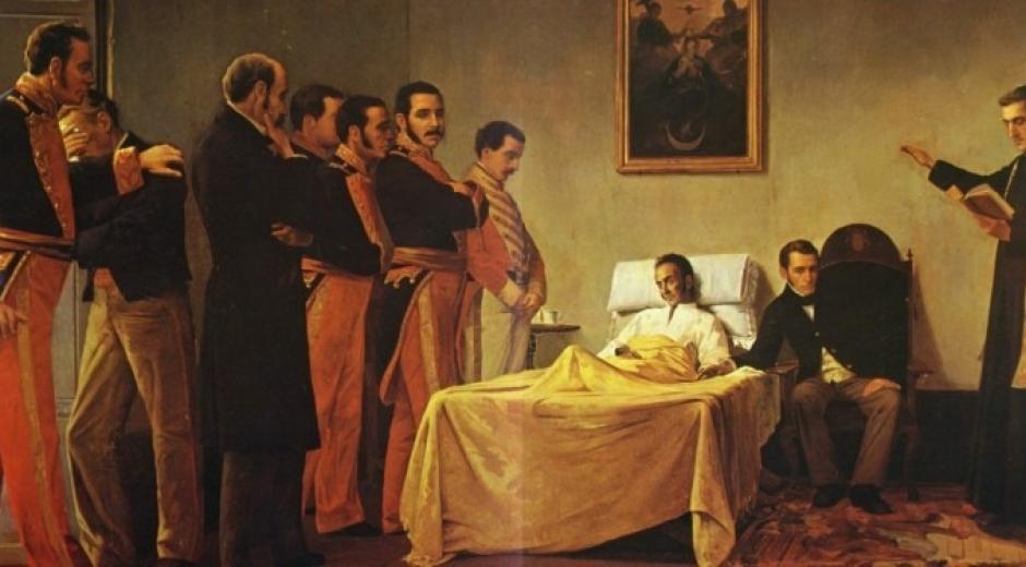 La Quinta de San Pedro Alejandrino fue el lecho de muerte de Simón Bolívar, en 1830.