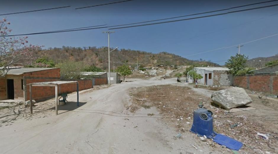 Imagen de referencia en el barrio Timayui.