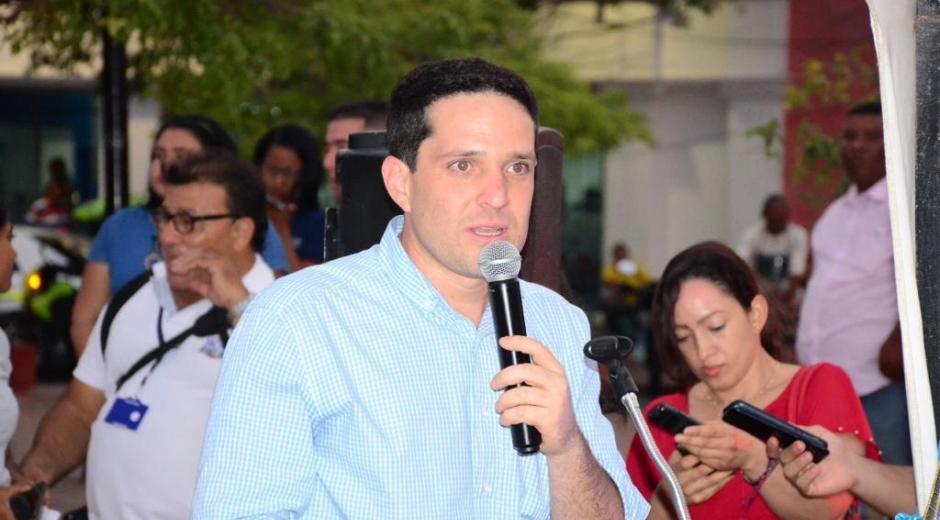 Camilo George Díaz, coordinador del proyecto nacional Colombia 2022.