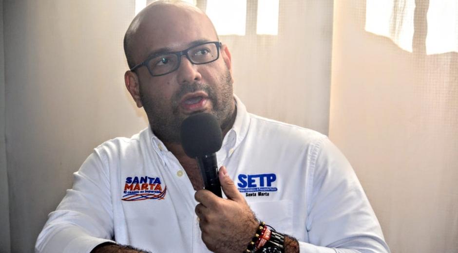 Diego López, gerente del Setp