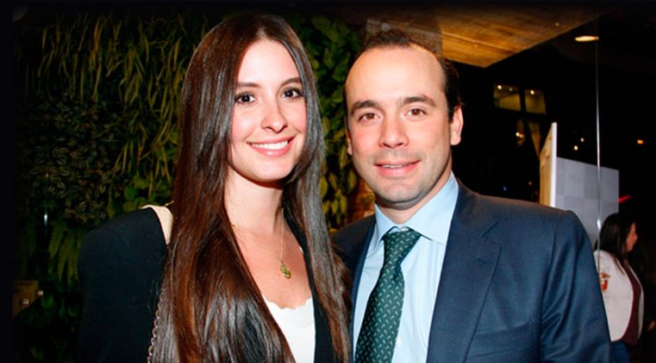 Taliana Vargas y Alejandro Eder