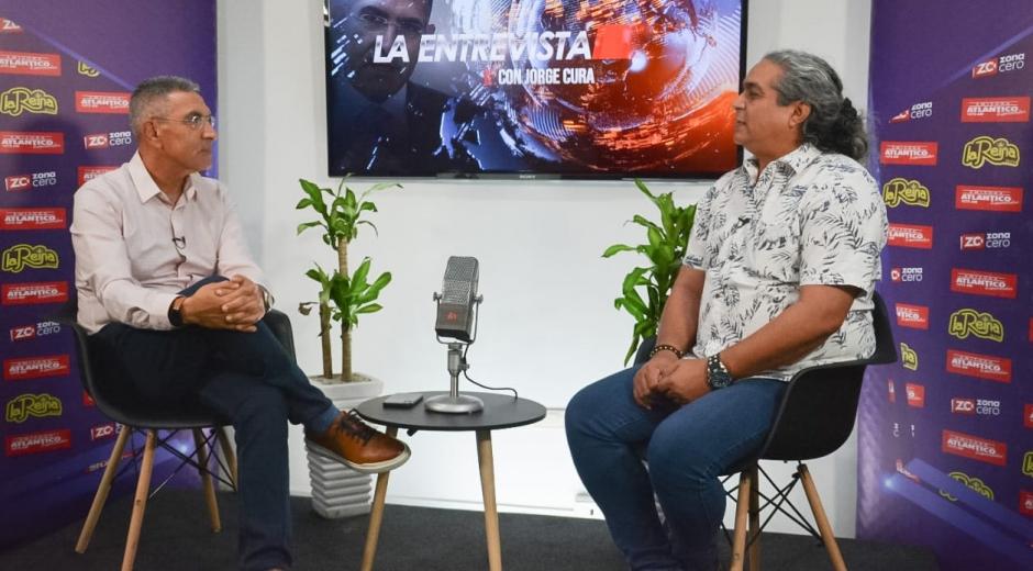 Jorge Cura con el experto Luis Carlos Gutiérrez, sobre el intenso verano en la región Caribe.