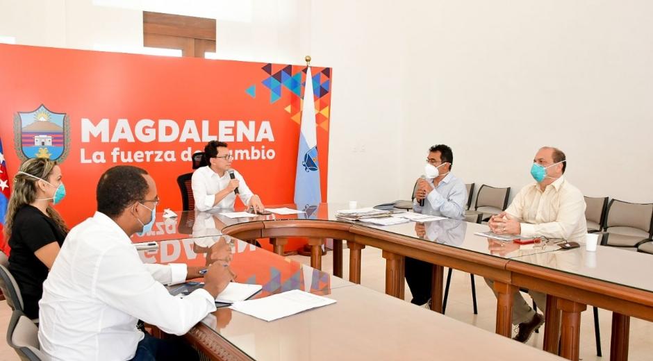 Este martes se llevó a cabo una junta extraordinaria del centro asistencial en el Palacio Tayrona.