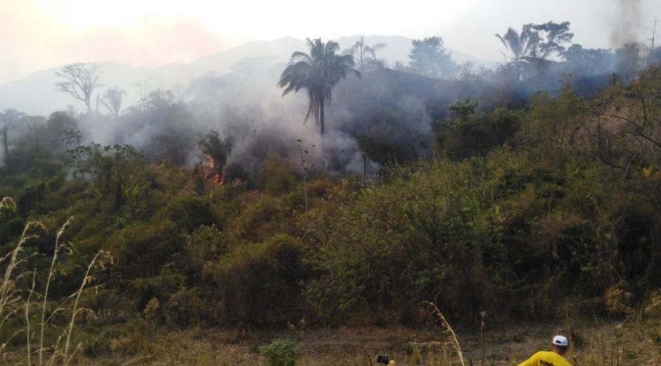 Incendios activos en la Sierra Nevada de Santa Marta.