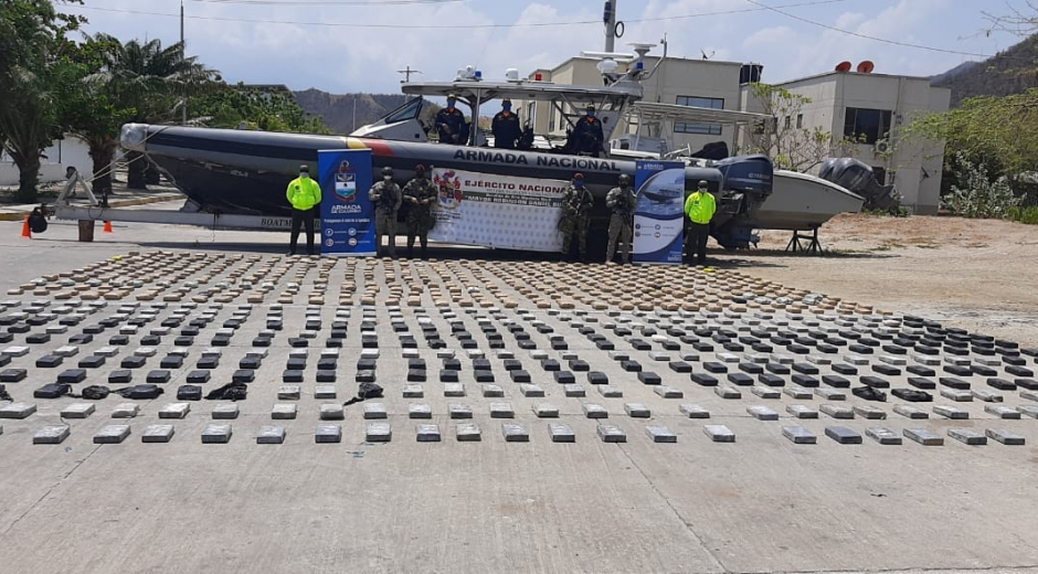 Ejército Nacional halla depósito para almacenamiento de estupefacientes en Palermo.