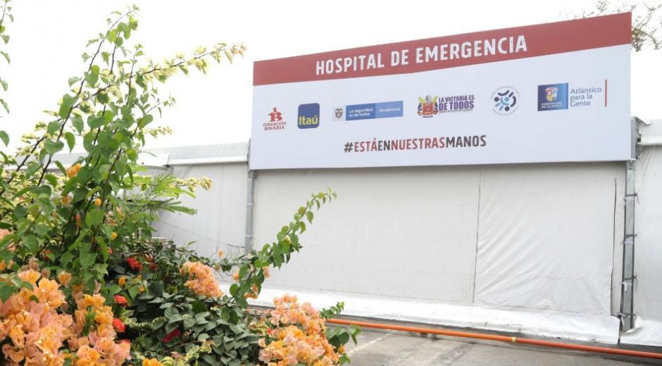 Fachada del Hospital de Emergencia.