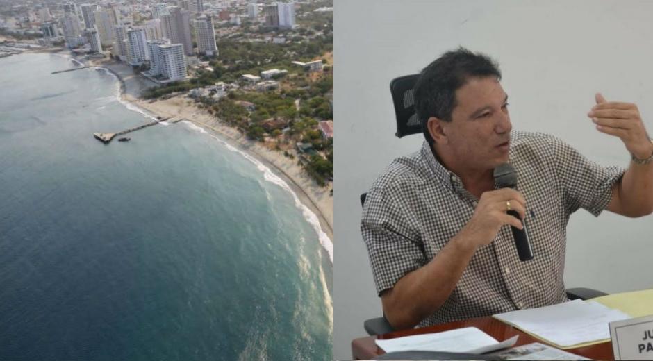Juan Carlos Palacio, concejal de Santa Marta.