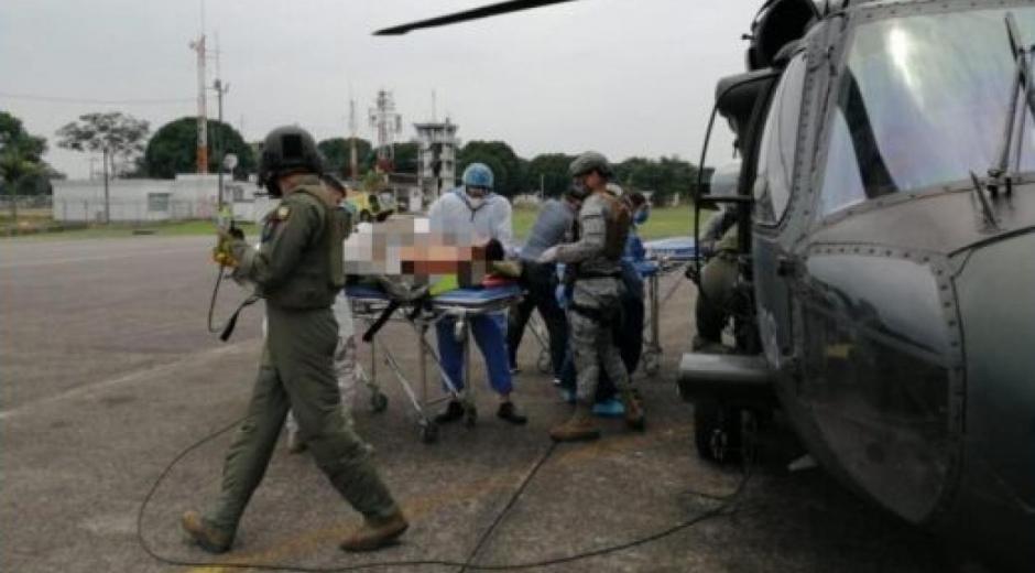 Heridos del atentado.