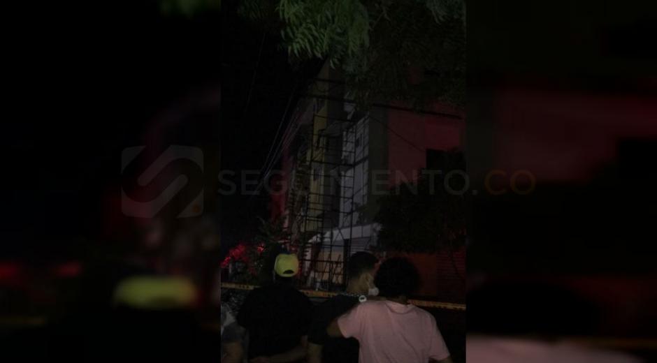 El hombre murió electrocutado en el sector de Rincón de Santa Cruz.