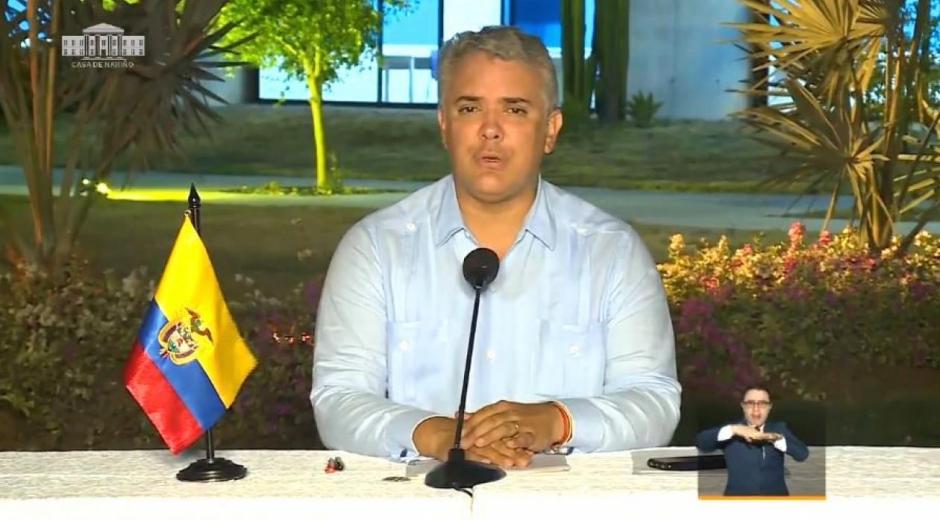 Iván Duque.