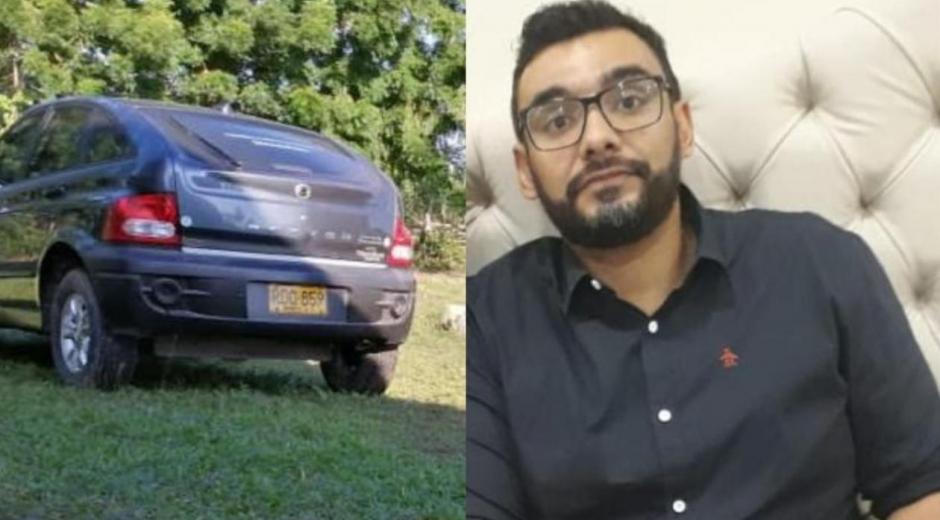 Ray Humberto Martínez desapareció con su camioneta.