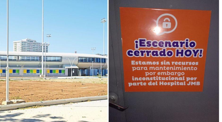 Escenarios deportivos en Santa Marta amanecieron cerrados.
