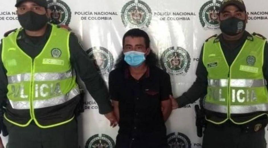 Molina Torres, de 25 años, fue capturado el pasado domingo en flagrancia.