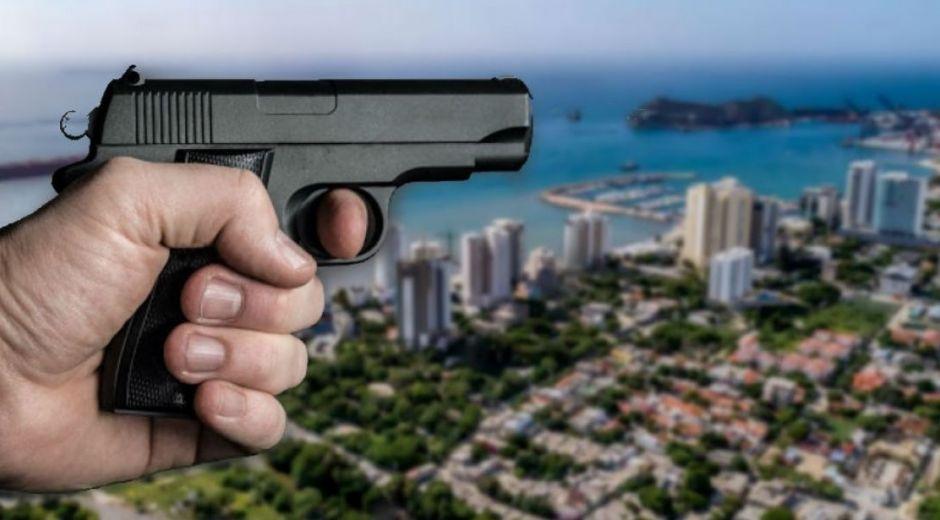 El atentado a bala se registró en el barrio María Eugenia.
