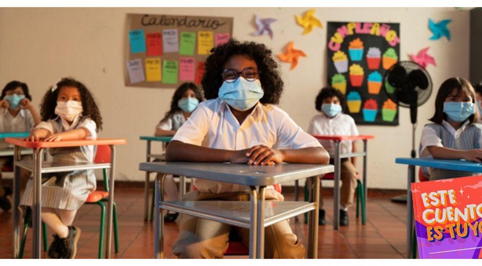 Esta campaña busca fomentar el acceso y la permanencia escolar en Colombia para el logro de trayectorias educativas completas.